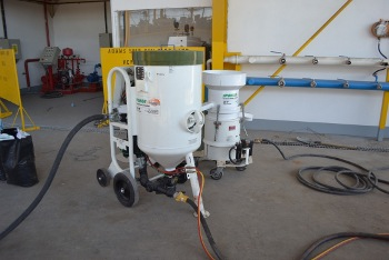 Our 200hp Sponge–Jet Machine & Recycler